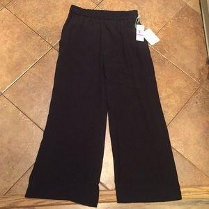 Black Culotte Pants (NWT)